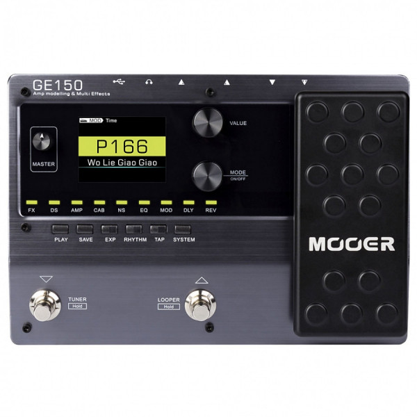 Гітарний процесор ефектів Mooer GE150