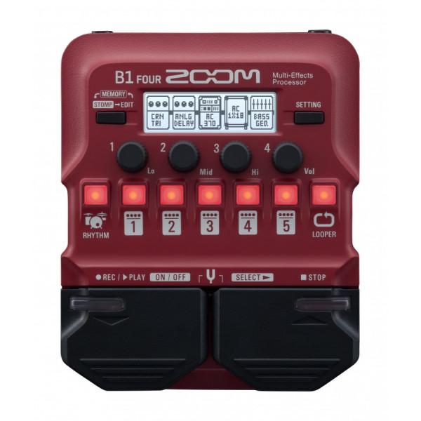 Басовий процесор мультиефектів Zoom B1 FOUR