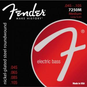 Струни для бас-гітари Fender 7250M