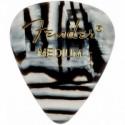 Медіатори Fender 351 Shape Premium Picks Zebra Medium