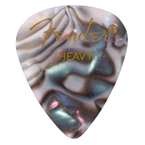 Медіатори Fender 351 Shape Premium Picks Abalone Heavy