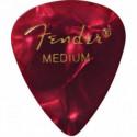 Медіатори Fender 351 Shape Premium Picks Red Moto Medium