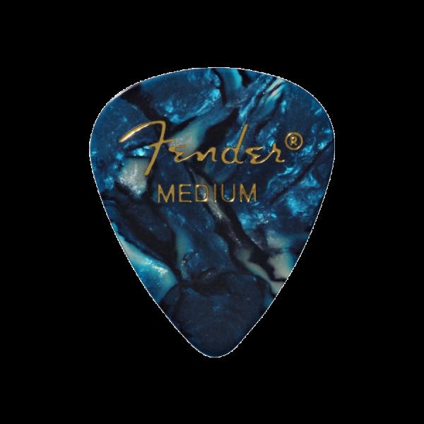 Медіатори Fender 351 Shape Premium Picks Ocean Turquoise Medium