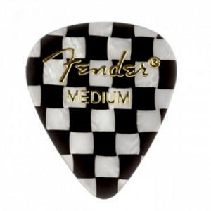 Медіатори Fender 351 Shape Premium Picks Checker Medium