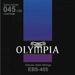 Струни для бас-гітари Olympia EBS455